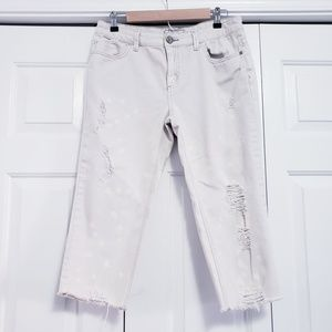 Free People Distressed/Destroyed Bleached 30 or 10